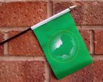 HAND WAVING FLAG (SMALL) - African Union